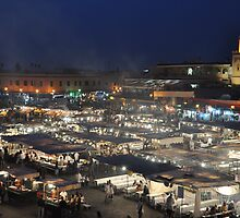 Djemma-el-Fna: The heart of Marrakech by Peter Gostelow