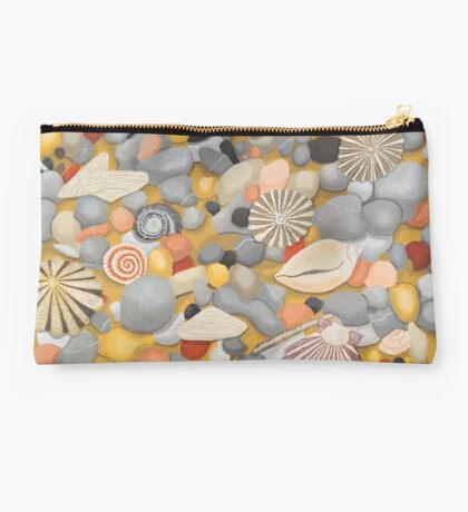 Pebbles and Shells Studio Pouch