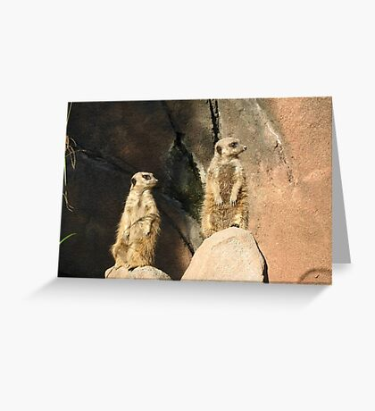 The watchers... Greeting Card