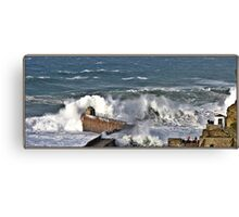 """ The result of force 10 gales"" Canvas Print"