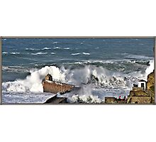 """"""" The result of force 10 gales"""" Photographic Print"""