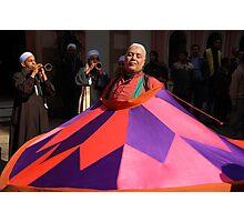 In trance: Sufi dancer, Cairo Photographic Print