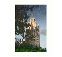 Chicago Reflections II Art Print