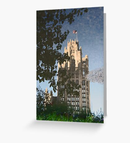 Chicago Reflections II Greeting Card