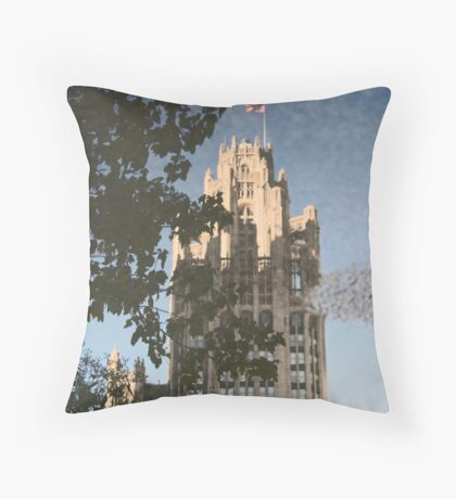 Chicago Reflections II Throw Pillow