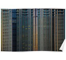 Chine 中国 - Shanghaï 上海 - Urban Trend Poster