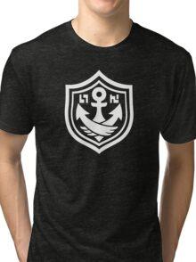 Splatoon SquidForce Black Anchor Tee Tri-blend T-Shirt