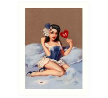 Girl 24 | (Your best Gil Elvgren) Pinup Art Print