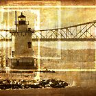 Lighthouse in Sleepy Hollow by M a r i e B a r c i a