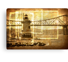 Lighthouse in Sleepy Hollow Canvas Print