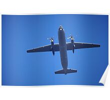 Military Airplane Poster