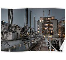 HDR Geneva 8th Nov 2009  - 3 Pont de la Machine Poster