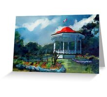 Spring Garden, Halifax Canada Greeting Card