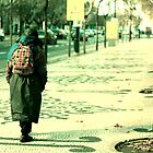 Homeless walking by Artur Pinheiro