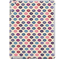 Retro Lips Pattern iPad Case/Skin