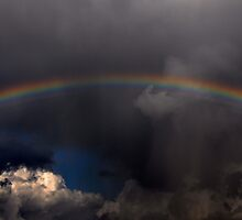 Sometimes a Rainbow Follows the Storm by Jennifer Ferry