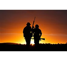 Dawn of the Warrior Photographic Print