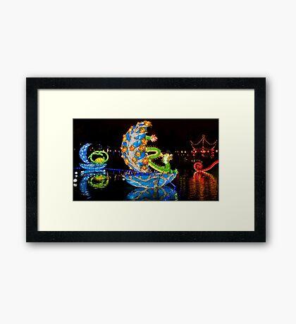 Magic Dragon 2 Framed Print