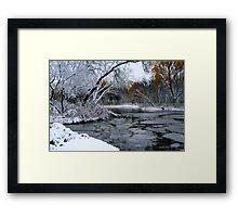 Winter Wonderland... Framed Print