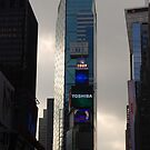 A Glare in Times Square by NikonJohn