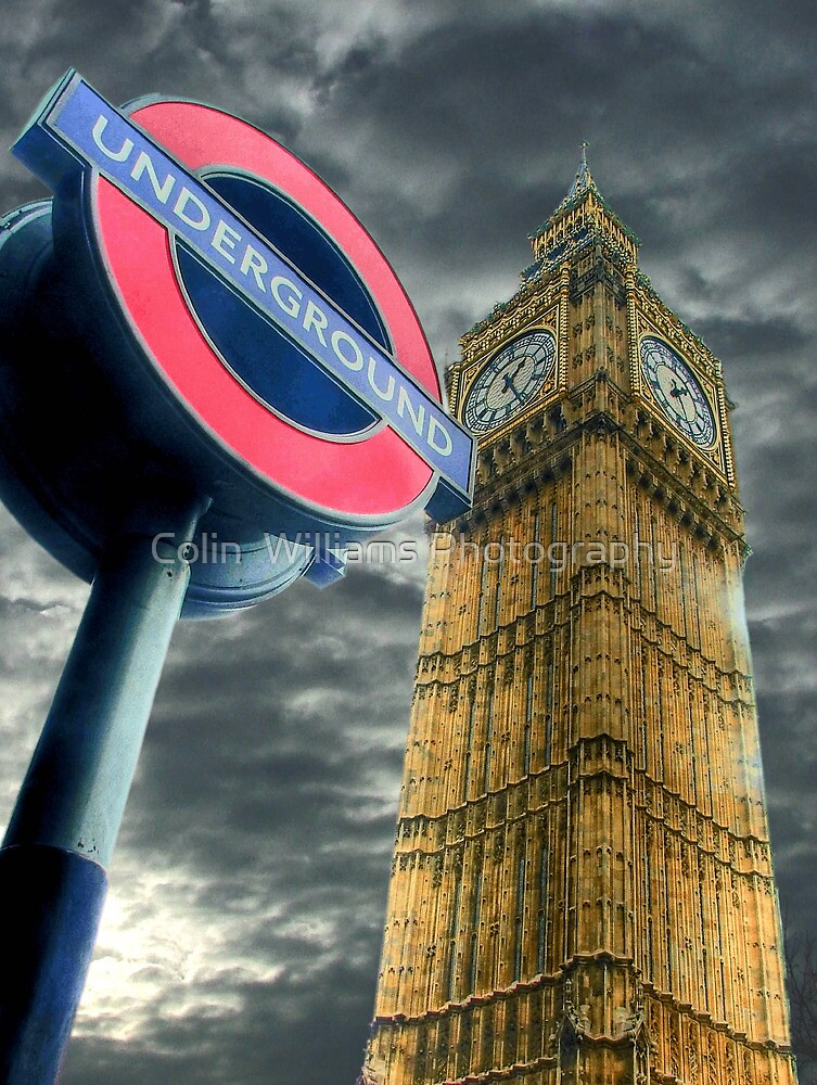 The Tube - Westminster  by Colin  Williams Photography