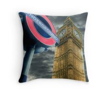 The Tube - Westminster  Throw Pillow