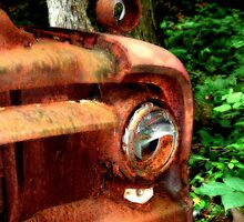 1952 Ford F500 Front Bumper by Hope Ledebur