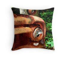 1952 Ford F500 Front Bumper Throw Pillow