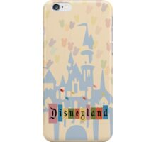 Vintage Disneyland iPhone Case/Skin