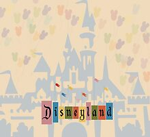 Vintage Disneyland by jaytasmic