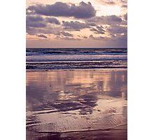 beach reflections... Photographic Print