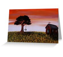Country Calm Greeting Card
