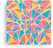 Colorful Chaos Canvas Print