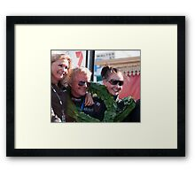 The Winners, Classic Adelaide Car Rally 2009 Framed Print