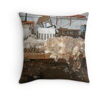 Sheared Throw Pillow