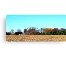 Harvest Ends Canvas Print