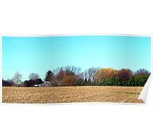 Harvest Ends Poster