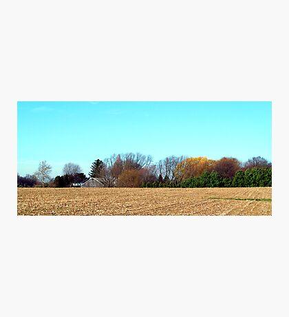 Harvest Ends Photographic Print