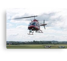 Action News Helicopter Canvas Print