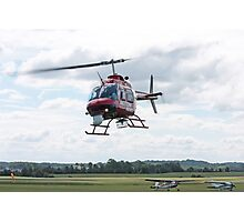 Action News Helicopter Photographic Print