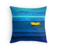 Abstract Boats- 17' Landscape with Boat' Throw Pillow