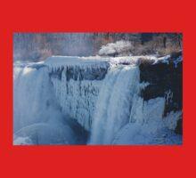 Icy Niagara Falls One Piece - Short Sleeve