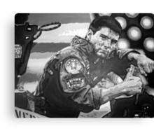 Top Gun iconic piece with Tom Cruise by artist Debbie Boyle - db artstudio Canvas Print