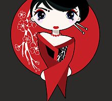 Geisha Girl by psygon