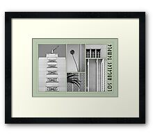 Temple Collage Framed Print