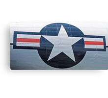 USAF Star Emblem Canvas Print
