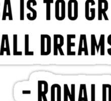 Ronald Reagan Quote Sticker