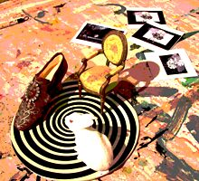 Rabbit circle - composition by Lorry666