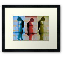 Body Language 21 Framed Print