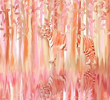 Tiger in the Trees by micklyn